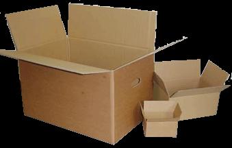 Wellpappe-Verpackungen