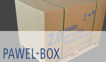 PAWEL BOX Universal-Karton- Verpackungslösung